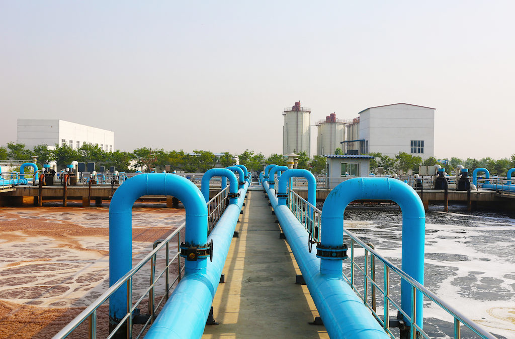 Beyond the Datacenter – Leak Detection System for Wastewater Treatment Plants