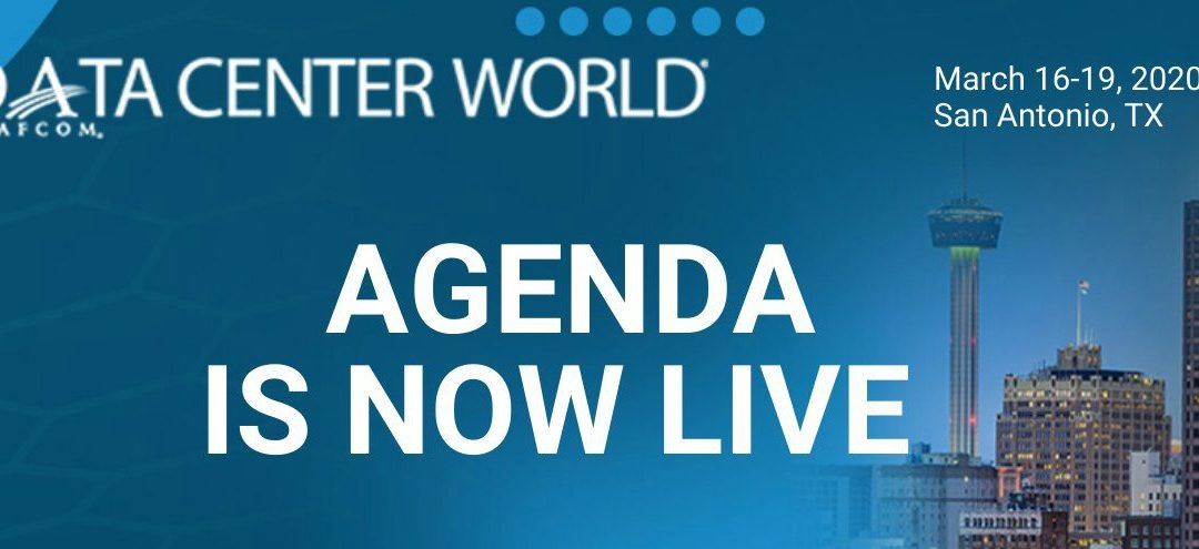 CEG's Andrew Graham Presents at Data Center World 2020