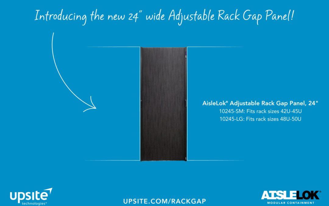 New Tech News – 24″ wide Adjustable Rack Gap Panel