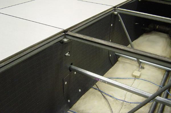 underfloor baffle system
